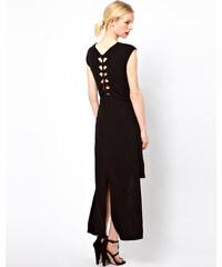 Kore von Sophia Kokosalaki - T-Shirt-Kleid mit Knotendetail hinten - Schwarz
