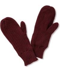 VILA CLOTHES Damen Handschuh, 14009338 PLUM MITTENS