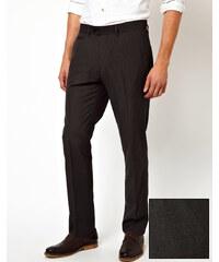 ASOS - Pantalon slim habillé style workwear - Anthracite - Gris
