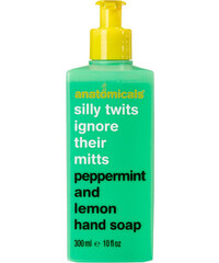 Anatomicals Silly Twits Ignore Their Mitts - Savon pour les mains menthe verte et citron 300 ml - Clair