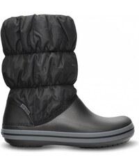 Crocs Winter Puff Boot Women Black/Charcoal