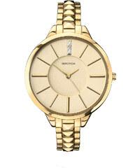 Topshop **Sekonda Editions 2014 Pyramid Gold Bracelet Watch
