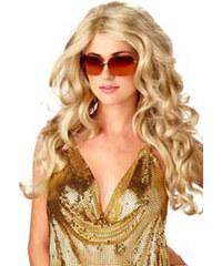 Vlnitá blond paruka