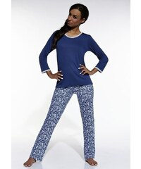 Dámské pyžamo Cornette Lilly 635/32 Palladium blu