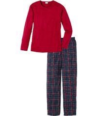 bpc bonprix collection Pyjama langarm in rot für Herren von bonprix