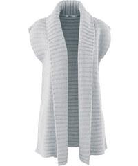 bpc bonprix collection Strick-Weste ohne Ärmel in grau für Damen von bonprix
