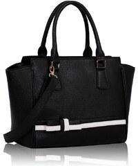 L&S Fashion (Anglie) Kabelka LS0064 černá