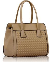 L&S Fashion (Anglie) Kabelka LS00141 béžová