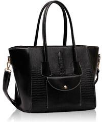 L&S Fashion (Anglie) Kabelka LS00235 černá
