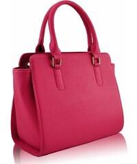 L&S Fashion (Anglie) Kabelka LS0020 růžová