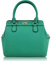L&S Fashion (Anglie) Kabelka LS0025 zelená