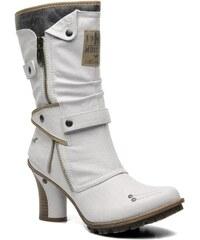 Mustang shoes - Lazlo - Stiefeletten & Boots für Damen / weiß