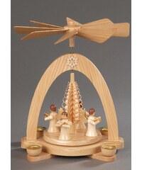 Weihnachts-Pyramide, natur, Albin Preißler