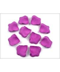 Plátky růží fialové