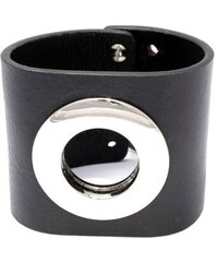 RITORE HEXA - kožený náramek v černé barvě