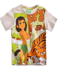 Dětské tričko Kniha džunglí světle béžové 116
