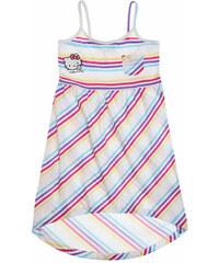Dívčí šaty Hello Kitty bílé vel.140