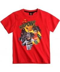 Tričko Lego Batman červené vel.140