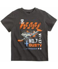 Tričko Disney Letadla tm. šedé vel.104