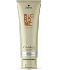 SCHWARZKOPF Blondme Cool Shampoo šampon pro ledově chladnou blond 250ml