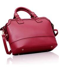 L&S Fashion (Anglie) Kabelka LS00157 růžová