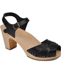 Swedish Hasbeens - Peep toe super high - Sandalen für Damen / schwarz