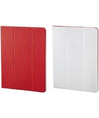 Hama Portfolio TwoTone für alle Tablets bis 17,8 cm (7), Rot/Weiß