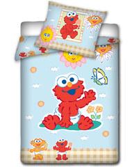 Povlečení do postýlky Sesame Street - Elmo
