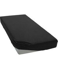 Polášek Jersey prostěradlo černé Rozměr: 60x120 cm