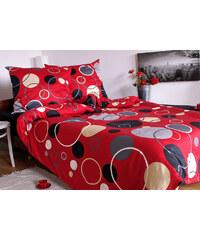 Sweet Home Saténový povlak na polštář Bubble Red Rozměr: 40x40 cm, Materiál: Bavlněný satén
