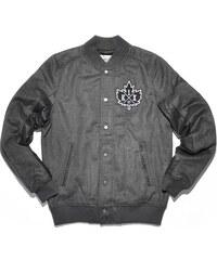 bunda K1X - Vintage Crest Varsity Dark Grey Heather/Black (8005)