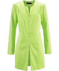 bpc selection Longblazer langarm in grün (Rundhals) für Damen von bonprix