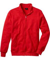 bpc bonprix collection Sweatjacke, Regular Fit langarm in rot für Herren von bonprix