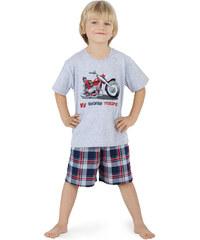 Cornette Dětské pyžamo Motorcycle for Son