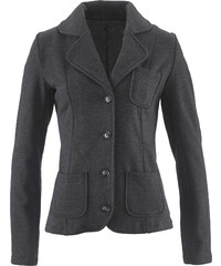 bpc bonprix collection Sweatblazer langarm in grau für Damen von bonprix
