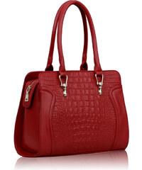 L&S Fashion (Anglie) Kabelka LS0098 červená