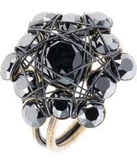 Konplott Ring black antique brass