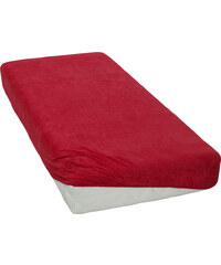 Froté prostěradlo Červené BedTex Rozměr: 180x200 cm