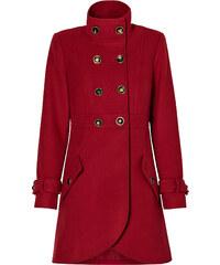 RAINBOW Kurzmantel langarm in rot (Rundhals) für Damen von bonprix