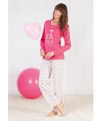 Dámské pyžamo CTM ADORE PYK XXL Růžová, růžová