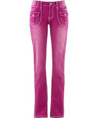 John Baner JEANSWEAR Stretch-Jeans BOOTCUT, Normal in pink für Damen von bonprix