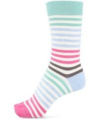 Barevné dámské pruhované ponožky Tom Joule Bamboo