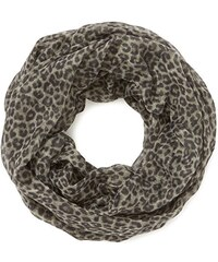 TOM TAILOR Damen Tuch leopard print tube/407