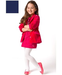 Punčochové kalhoty dívčí Mona Carino - výprodej, bílá