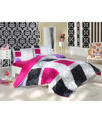 BedTex Bavlněné povlečení Sedef Růžové Rozměr: 140x200 + 70x90