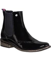 Kotníková obuv s elastickým prvkem R.POLAŃSKI - 0695 Černá