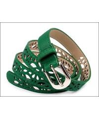 Slušivý zelený pásek s perforováním
