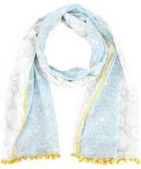 Disaster šátek Carnaby blue