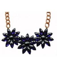 Gems Over náhrdelník Big Flower Lila