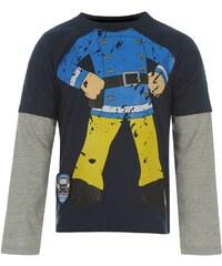 Triko Character Fireman Sam Long Sleeve T Shirt Infant Boys Navy/Grey 2-3 Roků